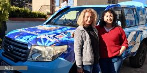 Altitude Facilities, Partenaire du Team Roses 38 – Rallye Aïcha des Gazelles